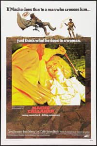 """Macho Callahan & Other Lot (Avco Embassy, 1970). One Sheets (2) (27"""" X 41""""). Western. ... (Total: 2 It..."""