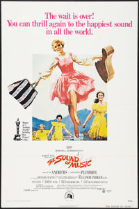 """The Sound of Music (20th Century Fox, R-1969, and R-1973). One Sheets (2) (27"""" X 41""""). Academy Award Winners..."""