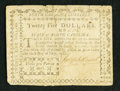 Colonial Notes:North Carolina, North Carolina May 10, 1780 $25 Very Fine.. ...