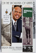 Books:Biography & Memoir, Kareem Abdul-Jabbar. SIGNED. On the Shoulders of Giants.Simon and Schuster, 2007. First edition, first printing. ...