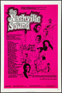 "The Nashville Sound (Ivy Films, 1972). One Sheet (27"" X 41""). Documentary"