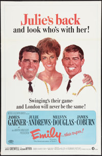"""The Americanization of Emily (MGM, R-1967). One Sheet (27"""" X 41""""). Comedy"""