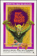 """Movie Posters:Horror, Night of the Blood Monster (American International, 1972). One Sheet (27"""" X 41""""). Horror.. ..."""