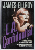 Books:Mystery & Detective Fiction, James Ellroy. L.A. Confidential. Mysterious Press, 1990.First edition, first printing. Ex-library with typical ...