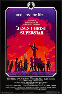 "Jesus Christ Superstar (Universal, 1973). One Sheet (27"" X 41""). Musical"