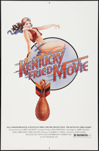 """Kentucky Fried Movie (United Film Distribution, 1977). One Sheet (27"""" X 41"""") Pin Up Style. Comedy"""