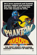 "Movie Posters:Horror, Phantom of the Paradise (20th Century Fox, 1974). One Sheet (27"" X41"") Richard Corben Style. Horror.. ..."