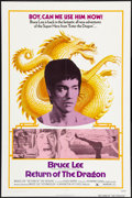 """Movie Posters:Action, Return of the Dragon (Bryanston, 1974). One Sheet (27"""" X 41""""). Action.. ..."""