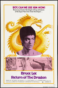 "Return of the Dragon (Bryanston, 1974). One Sheet (27"" X 41""). Action"