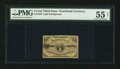 Fractional Currency:Third Issue, Fr. 1226 3¢ Third Issue PMG About Uncirculated 55 Net.. ...