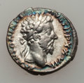 Ancients:Ancient Lots  , Ancients: ROMAN EMPIRE. Marcus Aurelius (AD 161-180). Lot of two (2) AR denarii.... (Total: 2 items)