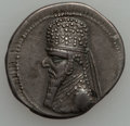 Ancients:Ancient Lots  , Ancients: PARTHIAN KINGDOM. Mithradates II (128-88 BC). Lot of two(2) AR drachms (4.03 and 4.11 gm).... (Total: 2 coins)