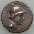 Ancients:Greek, Ancients: Eucratides I the Great (ca. 170-145 BC). AR tetradrachm(16.71 gm)....