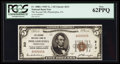National Bank Notes:Pennsylvania, Philadelphia, PA - $5 1929 Ty. 1 The Second NB Ch. # 213. ...