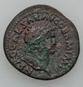 Ancients:Ancient Lots  , Ancients: ROMAN PROVINCIAL - ROMAN EMPIRE. Nero (AD 54-68). Lot ofthree (3)Æ coins. Fine to Very Fine... (Total: 3 items)