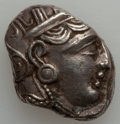 Ancients:Greek, Ancients: Athens. Ca. 353-294 BC. AR tetradrachm (17.19 gm)....