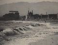 Photographs:20th Century, ALVIN LANGDON COBURN (British, 1882-1966). Long Beach, OceanPark, circa 1911. Gum platinum print. 12-1/2 x 16 inches (3...
