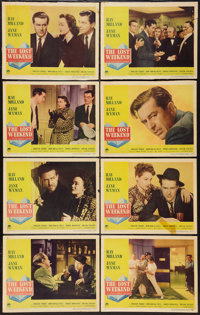 "The Lost Weekend (Paramount, 1945). Lobby Card Set of 8 (11"" X 14""). Academy Award Winners. ... (Total: 8 Item..."