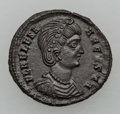 Ancients:Ancient Lots  , Ancients: ROMAN EMPIRE. Crispus - Helena. Lot of two (2) ÆFolles.... (Total: 2 coins)