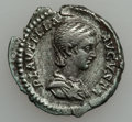 Ancients:Ancient Lots  , Ancients: ROMAN EMPIRE. Plautilla - Elagabalus. Lot of 2 AR denarii.... (Total: 2 coins)