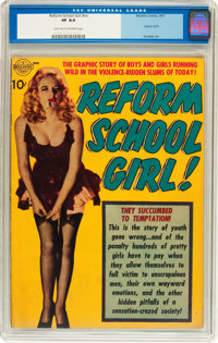 Reform School Girl #nn (Realistic Comics, 1951) CGC VF 8.0 Light tan to off-white pages
