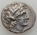 Ancients:Greek, Ancients: Ptolemy VI Philometor (AD 180-145). AR tetradrachm (13.51gm)....