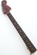 Musical Instruments:Electric Guitars, 1966 Fender Jaguar Burgundy Mist Electric Guitar Neck....