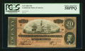Confederate Notes:1864 Issues, Dark Red Tint T67 $20 1864.. ...
