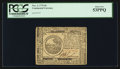 Colonial Notes:Continental Congress Issues, Continental Currency November 2, 1776 $6 PCGS About New 53PPQ.. ...