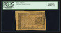Colonial Notes:New York, New York March 5, 1776 $2/3 PCGS Extremely Fine 45PPQ.. ...