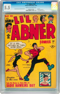 Golden Age (1938-1955):Cartoon Character, Li'l Abner #61 (Harvey, 1947) CGC FN- 5.5 Cream to off-white pages....