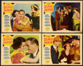 "Movie Posters:Drama, The Beloved Bachelor (Paramount, 1931). Lobby Cards (4) (11"" X14""). Drama.. ... (Total: 4 Items)"