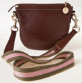Luxury Accessories:Bags, Heritage Vintage: Gucci Brown Leather Mini Messenger Bag. ...