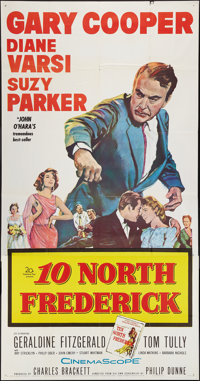 """10 North Frederick & Other Lot (20th Century Fox, 1958). Three Sheets (2) (41"""" X 80""""). Drama. ... (Tot..."""