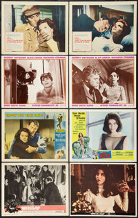 """Brainstorm & Others Lot (Warner Brothers, 1965). Lobby Cards (12) (11"""" X 14"""") & One Sheets (9)..."""