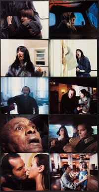 "The Shining (Warner Brothers, 1980). Deluxe Lobby Cards (10) (11"" X 14""). Horror. ... (Total: 10 Items)"