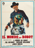"Movie Posters:Science Fiction, Westworld (MGM, 1973). Italian 2 - Foglio (39"" X 55""). ScienceFiction.. ..."