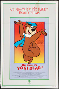 "Hey There, It's Yogi Bear & Others Lot (Clubhouse, R-1986). One Sheets (3) (27"" X 40"" & 27&quo..."