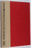 Books:Books about Books, Paul Thompson. The Work of William Morris. Viking, 1967. First edition, first printing. A few abraded pages. No jac...