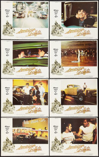 "American Graffiti (Universal, 1973). Lobby Card Set of 8 (11"" X 14""). Comedy. ... (Total: 8 Items)"