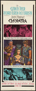 "Movie Posters:Historical Drama, Cleopatra (20th Century Fox, 1964). Insert (14"" X 36""). HistoricalDrama.. ..."