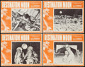 """Movie Posters:Science Fiction, Destination Moon (Pathé, R-1960s). Lobby Card Set of 4 (11"""" X 14"""").Science Fiction.. ... (Total: 4 Items)"""