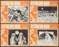 "Destination Moon (Pathé, R-1960s). Lobby Card Set of 4 (11"" X 14""). Science Fiction. ... (Total: 4 Item..."