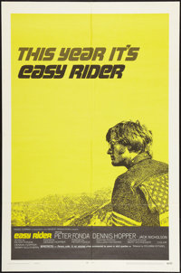 "Easy Rider (Columbia, 1969). One Sheet (27"" X 41"") Style C. Drama"