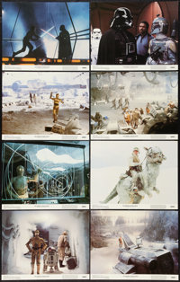 "The Empire Strikes Back (20th Century Fox, 1980). Lobby Card Set of 8 (11"" X 14""). Science Fiction. ... (Total..."