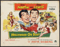 "Movie Posters:Comedy, Hollywood or Bust (Paramount, 1956). Half Sheet (22"" X 28"") StyleA. Comedy.. ..."