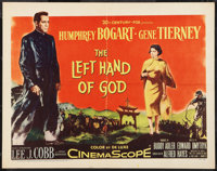 "The Left Hand of God (20th Century Fox, 1955). Half Sheet (22"" X 28""). Drama"