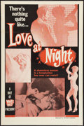 """Movie Posters:Crime, Love at Night (William Mishkin, 1961). One Sheet (27"""" X 41""""). Crime.. ..."""