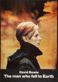 """Movie Posters:Science Fiction, The Man Who Fell to Earth (Cinema 5, 1976). One Sheet (29.5"""" X41.5""""). Science Fiction.. ..."""