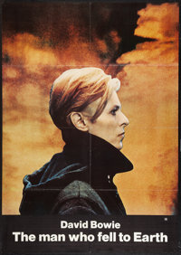 """The Man Who Fell to Earth (Cinema 5, 1976). One Sheet (29.5"""" X 41.5""""). Science Fiction"""